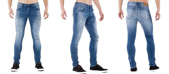 Pantalon Jean Statement Hombre   Rash (191407)