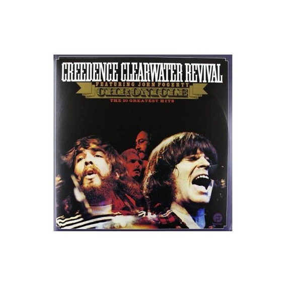 Creedence Clearwater Revival Chronicle Lp Vinilo X 2