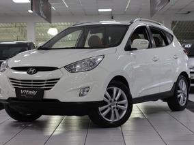 Hyundai Ix35 2.0 Gls 2wd Flex Aut. 2013 * Bco Couro Caramelo