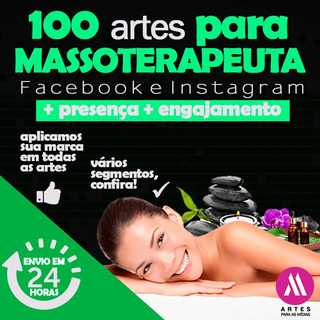 100 Artes Para Massoterapeuta Postar No Facebook E Instagram