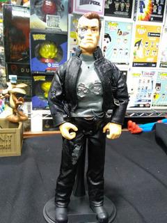 Figura Terminator 2 Con Ropa De Tela Años 90 - 12 Pulgadas