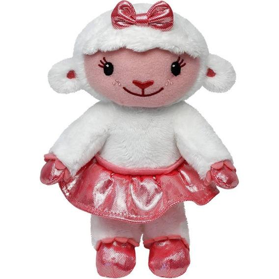 Pelúcia Lambie Cordeiro Doutora Brinquedo Mcstuffins Ty 18cm