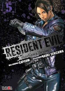 Libro 5. Resident Evil - ( Marhawa Deside ) De Naoki Serizaw