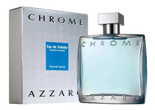 Imagem 1 de 2 de Perfume Azzaro Chrome Masculino Eau De Toilete 50ml