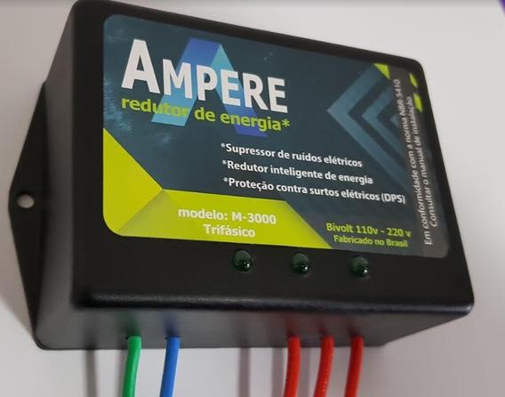 Ampere Redutor De Energia Até 40% Dps Anti Raio Trifásico