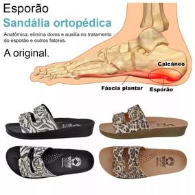 2 Pares Chinelo Sandália Original Ortopédica Anti-stress