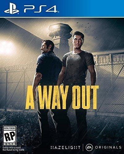 A Way Out - Ps4 - Pronta Entrega! Midia Fisica! Nacional!