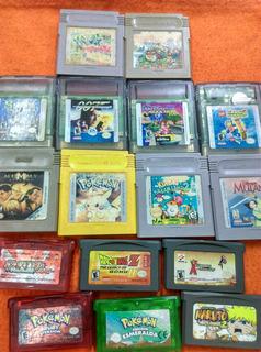 Game Boy Casset Originales Precio De Acuerdo Al Juego Varia