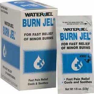 Water Jel Burn Jel Lidocacine 2% Caja Con 25 Sobres De 3.5 G