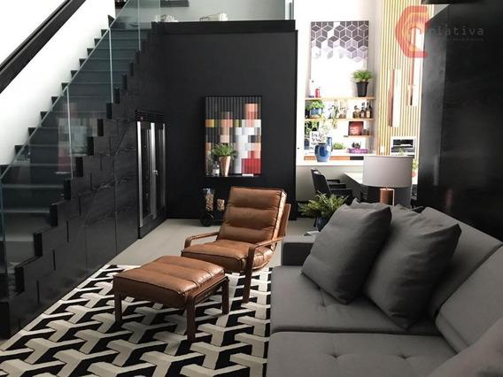 Apartamento Duplex Com 164 Metros Na Jardim Anália Franco - Ad0001