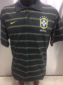 Camisa Seleção Brasileira Polo Viagem Nike.