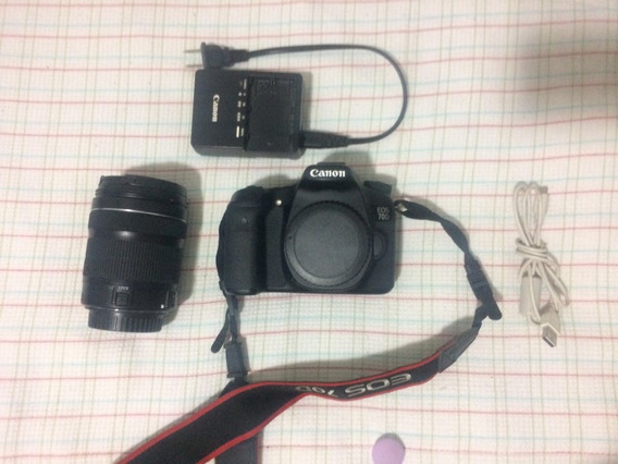 Camera Canon 70d + Lente 18-135mm