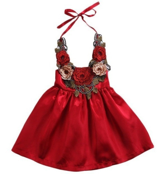 Vestido Rojo Bebe