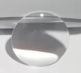 Lente Biconvexa Proteon Vidro Óptico Foco 52mm Diâm.35mm Liq