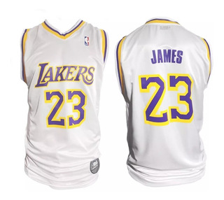 Camiseta Basquet Nba Los Angeles Lakers Lebron James Basket
