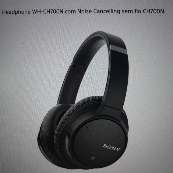 Fone De Ouvido Com Cancelamento De Ruído Sony