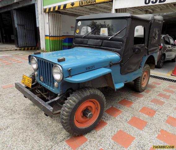 Jeep Willys Cj Aaa