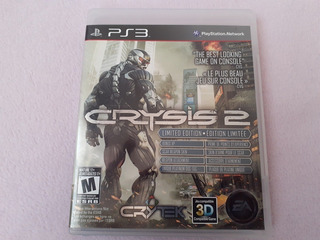 Crysis 2 Limited Edition Para Ps3
