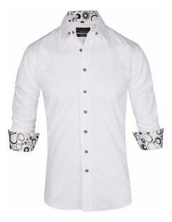 Camisa Entallada Slim Fit Línea Nueva - Quality Import Usa