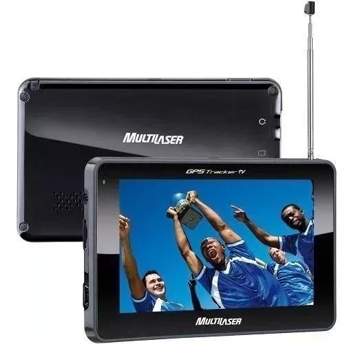 Gps Autom Multilaser Tela 4.3 Tv Digital Fm Gp034 Mostruário