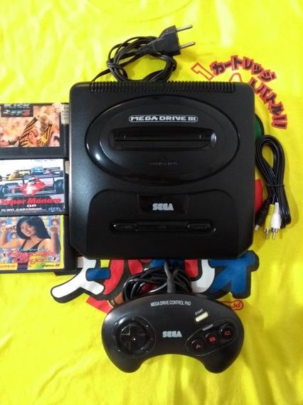 Mega Drive 3 Completo