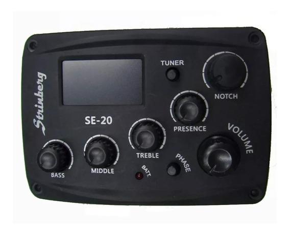 Pré Amplificador Strinberg Se-20 / Completo Com Bateria