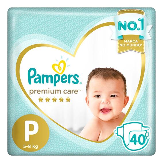 Fralda Infantil Pampers Premium Care