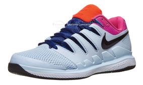 Tenis Nike Air Zoom Vapor X Half Blue/fuchsia