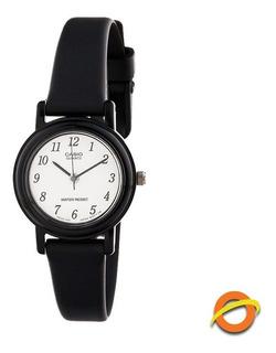 Reloj Casio Lq-139b Analogico Dama Mujer Correa Resina