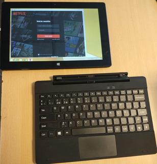Tablet Usada Windows 10 + Teclado De Regalo Negociable