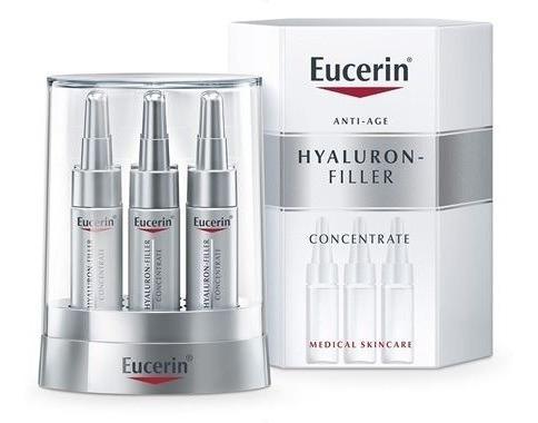 Eucerin Hyaluron Filler Serum Concentrate 6 Ampolas Original