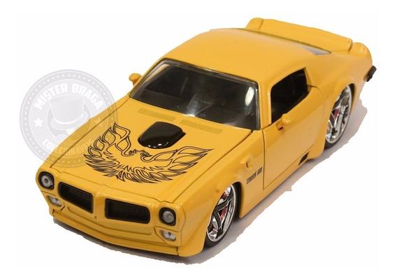 Miniatura Pontiac Firebird Trans Am 1972 Amarela Jada 1/24