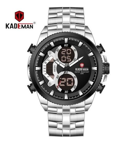 Relógio Kademan Homens Casuais 2019 Novo Topo Luxo