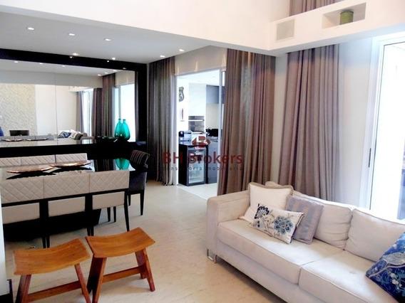 Apartamento 4 Quartos 221m² Para Alugar No Vila Da Serra Por R$ 8.900 - 18271