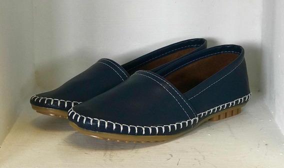 Zapato Estilo Toms Azul Marino #(23 Y 23.5) Dama