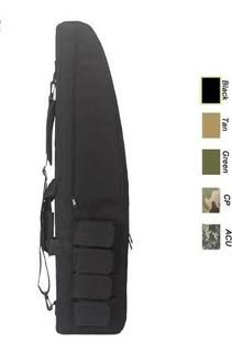 Capa Case Tactical Airsoft Carabina Espingarda Estofada 1.2