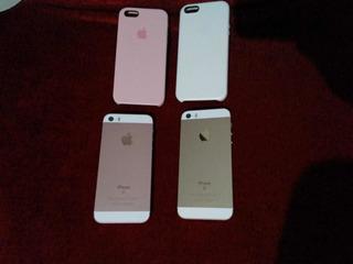 iPhone SE 16 G + Carcaça iPhone SE Rose De 32g