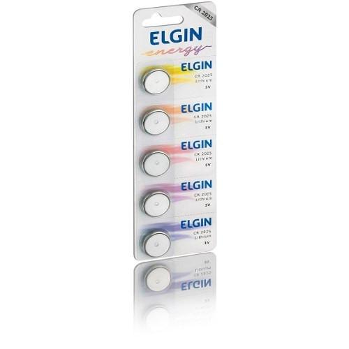 Bateria Pilha P/ Óculos 3d Cr2025 3v Blister C/5un-elgin