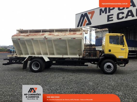 Caminhão 1214 C Carroceria Silo Graneleiro Mercedes-benz