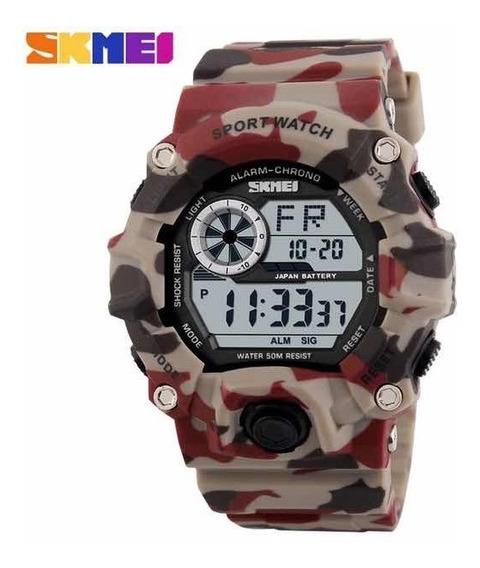Relógio Masculino Esportivo Digital A Prova D Água Militar