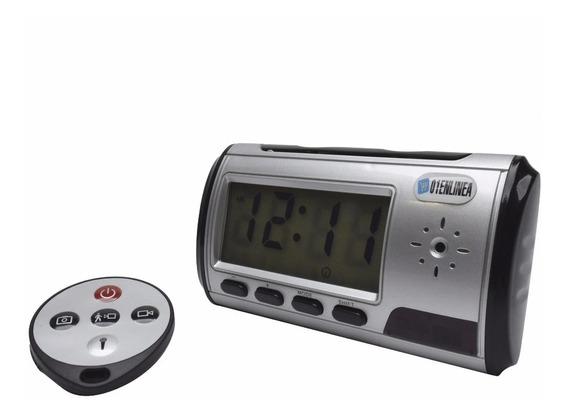 Reloj Espia Con Camara Oculta Y Microfono Escondido