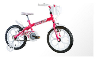 Bicicleta Aro 16 Com Rodinha Monny Pn Track Bikes