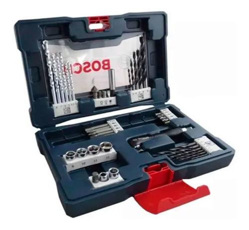 Set V Line Bosch Para Taladrar Y Atornillar 41 Piezas