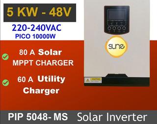 Energía Solar Inversor 5000w