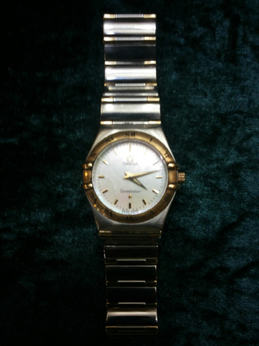 Relógio Omega Constallation Aço E Ouro Feminino