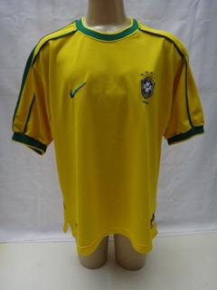 Camisa Seleção Brasileira 1998 Brasil Nike Copa Do Mundo Gg