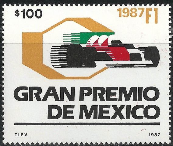 1987 Formula 1 Grand Prix Autos De Carreras Sc 1517 Mnh