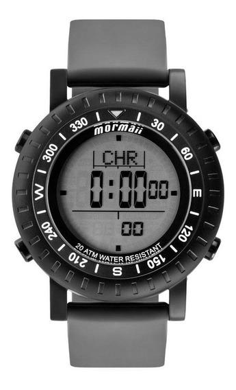 Relógio Masculino Mormaii Mo1152a/8p Cinza