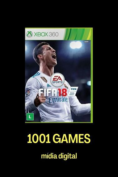 Fifa 2018 - Mídia Digital Xbox 360