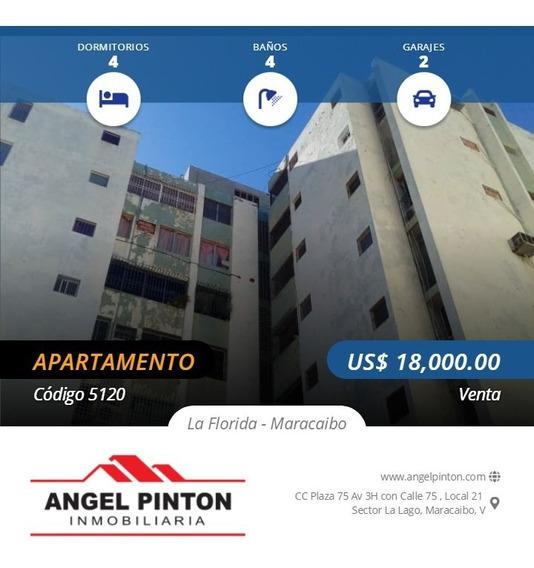 Zulia 24/7 Vende Apartamento La Florida Maracaibo Api 5120